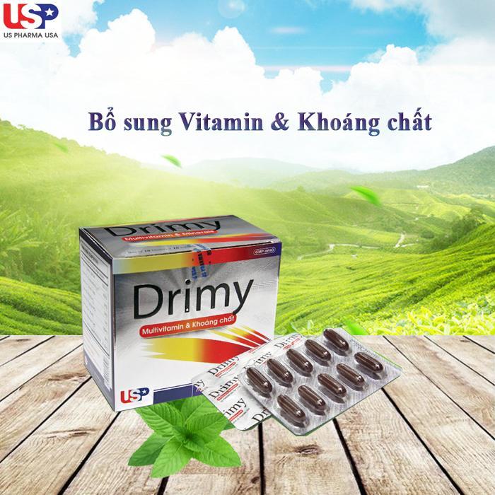 vitamin tổng hơp drimy