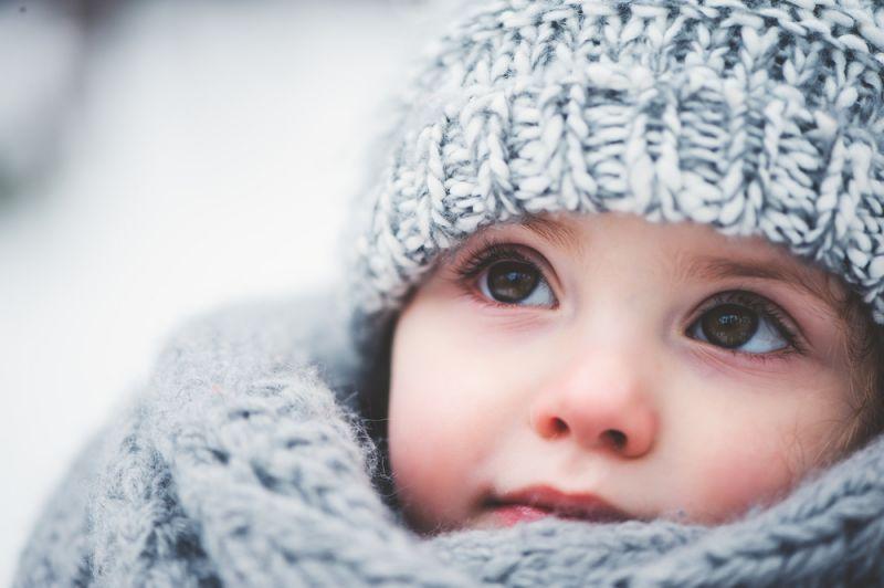 giữ ấm cho trẻ vào mùa đông